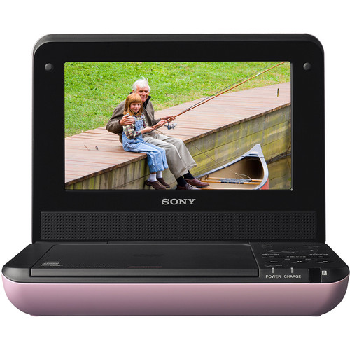 sony dvp fx750p 7 portable dvd player pink dvpfx750 p. Black Bedroom Furniture Sets. Home Design Ideas