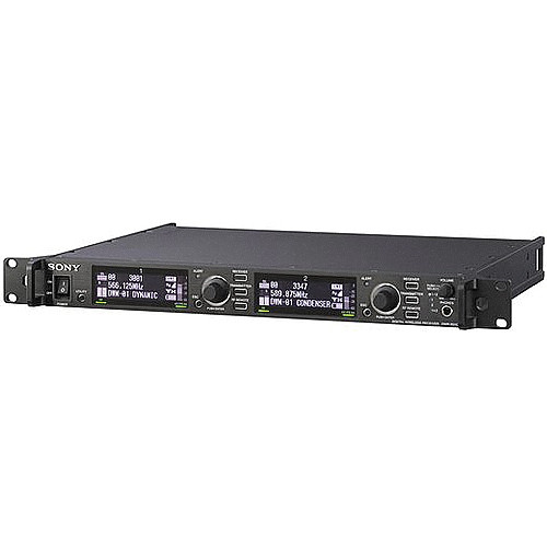 Sony DWR-R01D Dual Channel Rack Mountable Digital Wireless Receiver