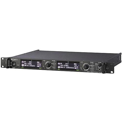 Sony DWR-R01D Dual Channel Rack Mountable Digital Wireless Receiver