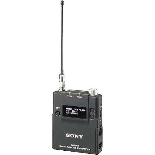 Sony DWT-B01 Digital Wireless Bodypack Transmitter (CH 42/44)