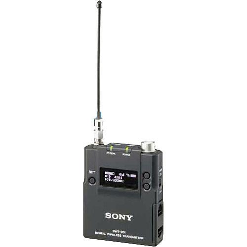 Sony DWT-B01 Digital Wireless Bodypack Transmitter (CH 42/44)