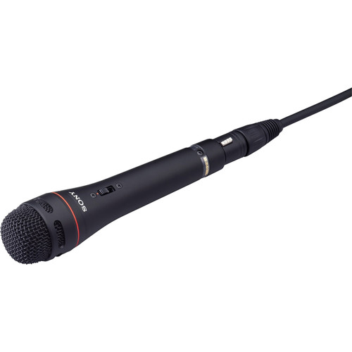 Sony F-720 - Uni-Directional Handheld Microphone