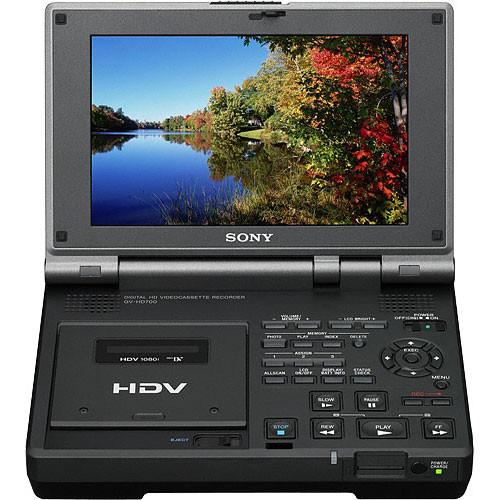 Sony GV-HD700E PAL HDV Video Walkman