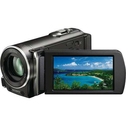 Sony HDR-CX110E HD Handycam PAL Camcorder (Black)