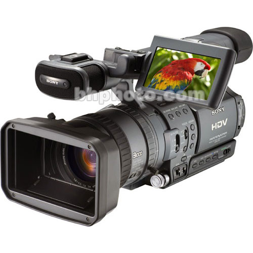 "Sony HDR-FX1E ""PAL"" HDV 1080i Camcorder"