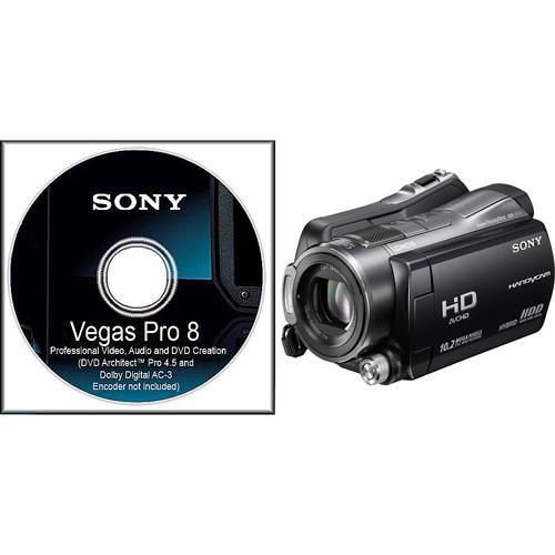Sony HDR-SR12 HD Camcorder & Vegas Pro 8 Bundle Kit
