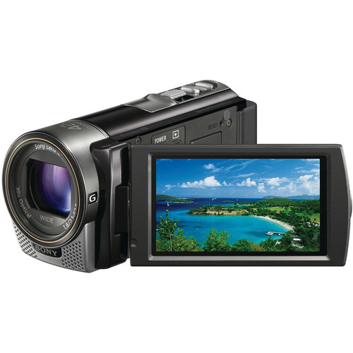 Sony HDR-CX160 HD Flash Memory Camcorder (Black)