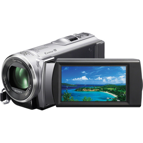 Sony PAL HDR-CX210 Handycam Video Camera (Silver)