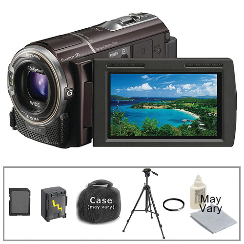 Sony HDR-CX360 Camcorder with Basic Accessory Kit