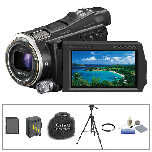 Sony HDR-CX700 Camcorder with Basic Accessory Kit