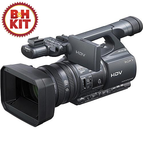 Sony HDR-FX1000 Handycam HDV Camcorder Kit