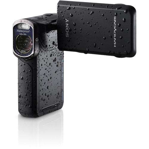 Sony 16GB HDR-GW77V Waterproof Full HD Camcorder (Black)