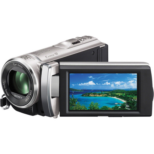 Sony HDR-PJ200E Full HD Camcorder With Projector (PAL) (Silver)