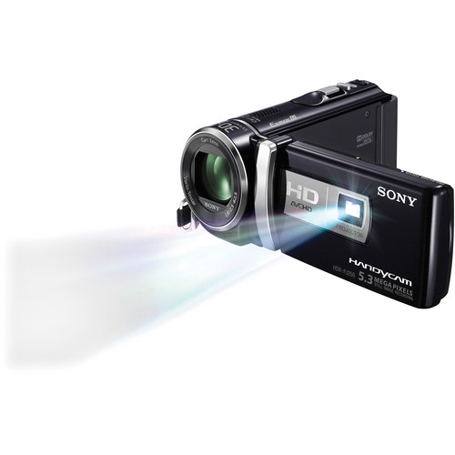 Sony HDR-PJ200 High Definition Handycam Camcorder with Projector (Black)