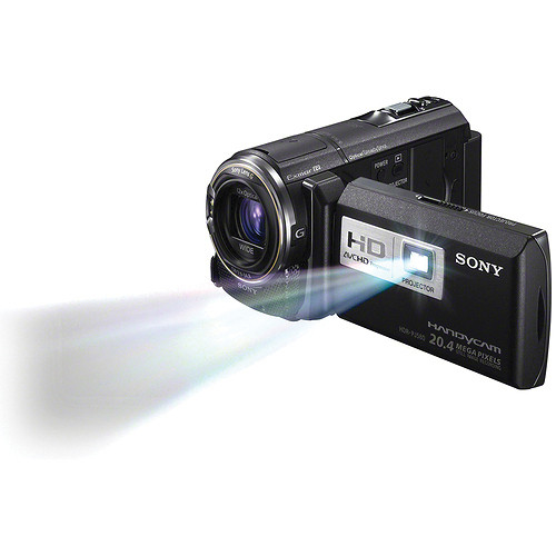 Sony HDR-PJ580V High Definition Handycam Camcorder with Projector (Black)