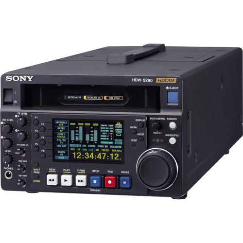 Sony HDW-S280 HDCAM Field Recorder