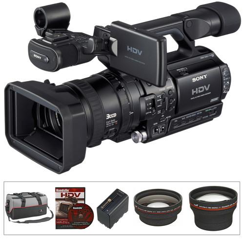 "Sony HVR-Z1U 1/3"" 3CCD HDV Camcorder Kit"