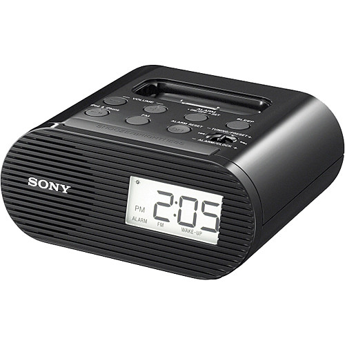 Sony ICF-C05iP iPod Dock/Clock (Black)