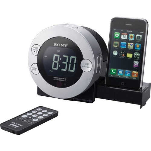 Sony ICF-C7IP Clock Radio for iPod and iPhone