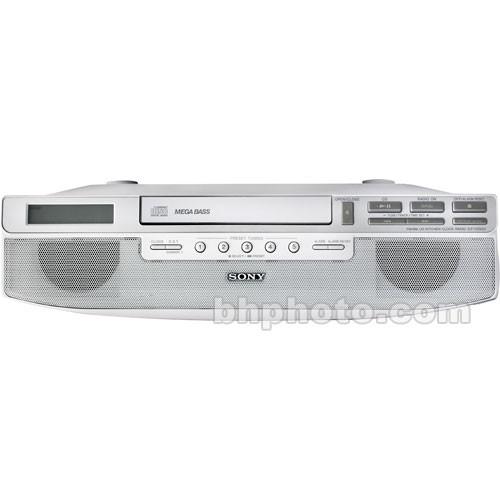 Sony Icf Cd523 Under Cabinet Kitchen Cd Clock Radio