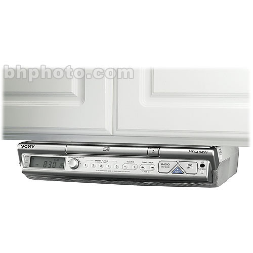 Sony Under The Cabinet Radio Cd Player