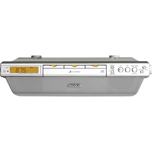 Sony ICF-CDK70 Under Cabinet Kitchen CD Clock Radio