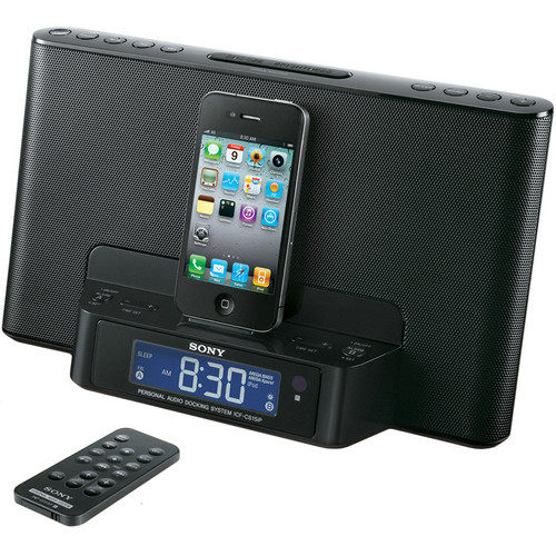 Sony Speaker Dock for iPod and iPhone (Black)