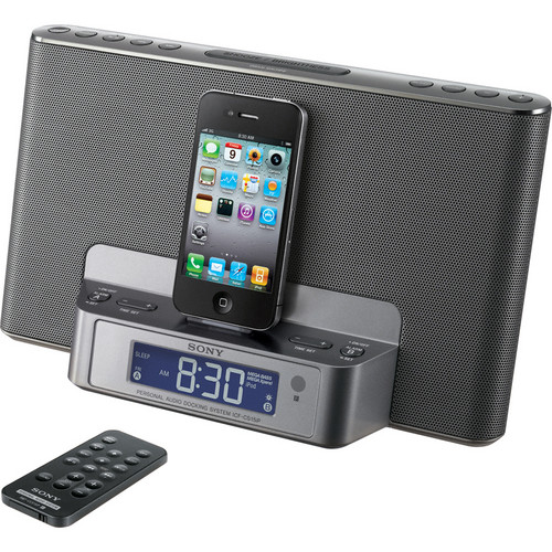 Sony ICF-CS15iPSIL Speaker Dock for iPod and iPhone (Silver)