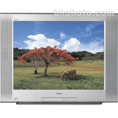 Sony Kd 27fs170 27 Trinitron Wega Flat Panel Kd27fs170