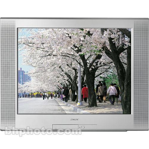 """Sony KD-36FS170 36"""" Trinitron WEGA Flat CRT TV"""