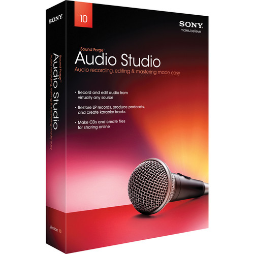 Sony Sound Forge Audio Studio 10 - Volume User (500+ Site Licenses)