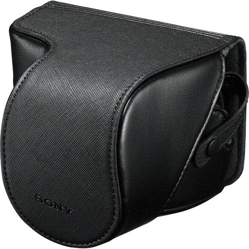Sony LCS-EJC3/B Alpha NEX Lens Jacket Case (Black)