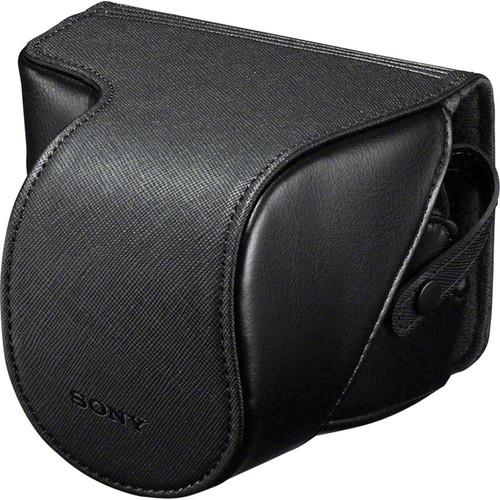 Sony LCS-EJC3/B Alpha NEX Lens Jacket Case (Black)
