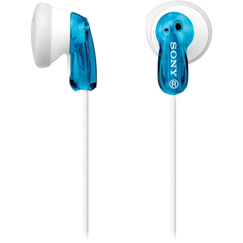 Sony MDR-E9LP Stereo Earbuds (Blue)