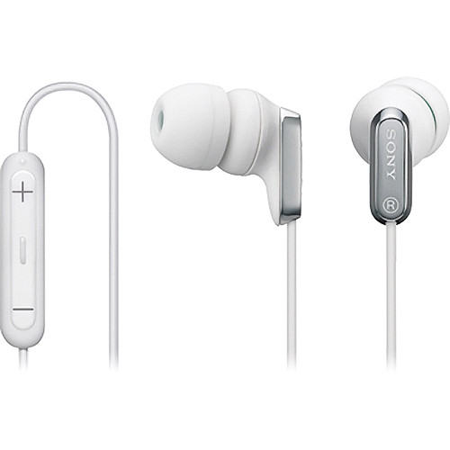 Sony MDR-EX38iP In-Ear Stereo Headphones (White)