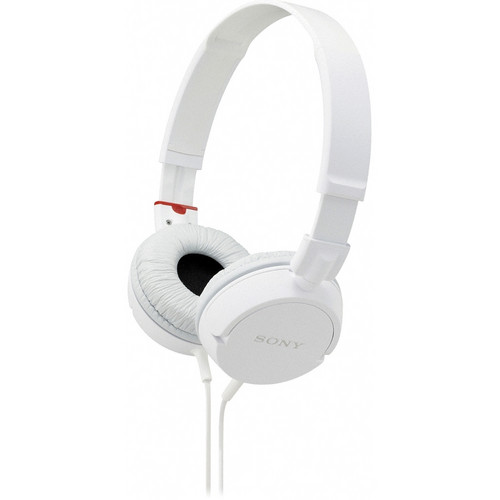 Sony MDR-ZX100 Stereo Headphones (White)