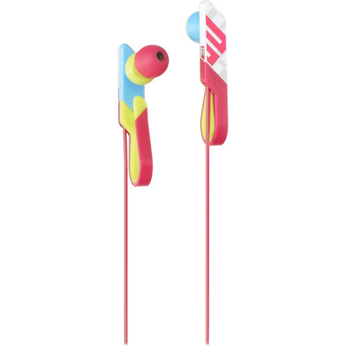Sony MDR-PQ4 PIIQ Qlasp Clip-On In-Ear Headphones (Multicolor)