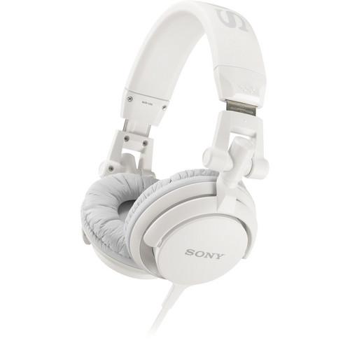 Sony MDR-V55 DJ Style Headphones (White)