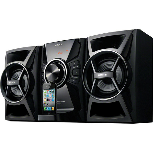 Sony MHC-EC609iP 100W Music System With CD, iPhone/iPod Dock
