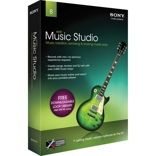 Sony ACID Music Studio 8 - Complete Home Recording Software