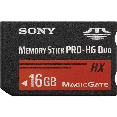 Sony 16GB Memory Stick PRO-HG Duo