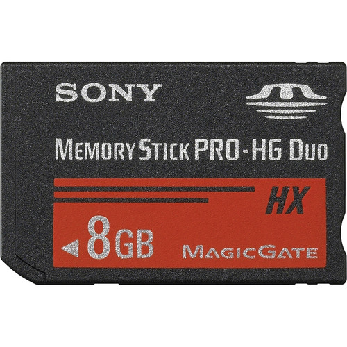 Sony 8GB Memory Stick PRO-HG Duo HX (30MB/s)
