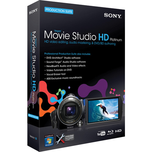 how to clear static sony vegas