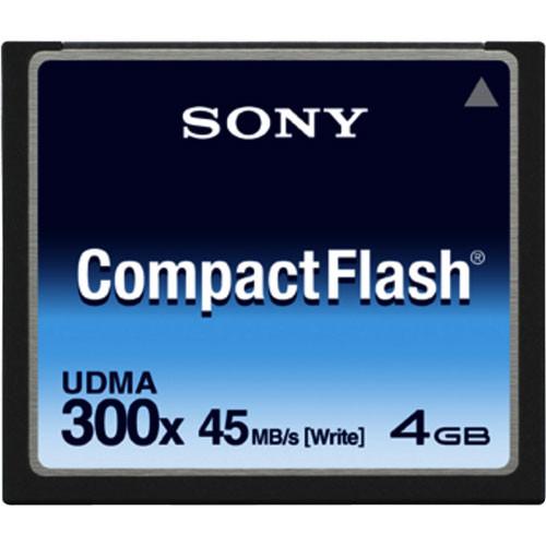 Sony 4GB 300x CompactFlash Card