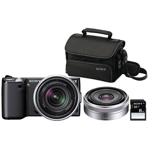 Sony Alpha NEX-5 Photo Specialty Bundle