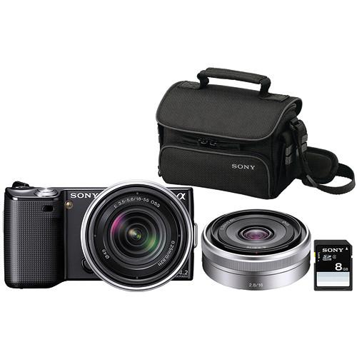 Sony Alpha NEX-5 Photo Specialty Bundle