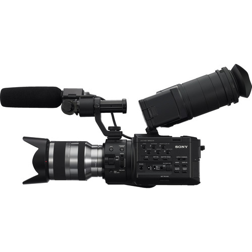 Sony NEX-FS100UK Super 35 Camcorder with 18-200mm Lens