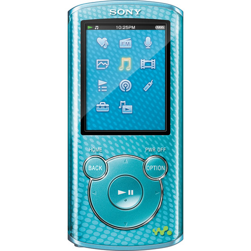 Sony 4GB E Series Walkman Video MP3 Player (Blue)