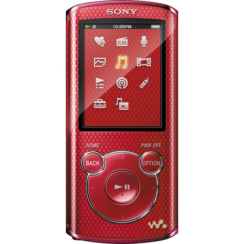 Sony 4GB E Series Walkman Video MP3 Player (Red)