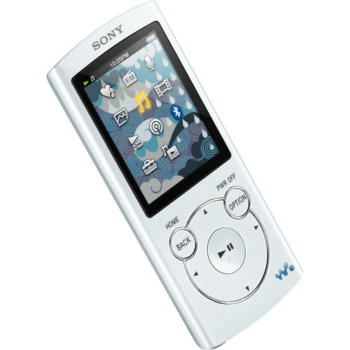 Sony 8GB NWZ-S764BT Bluetooth-Enabled Walkman Video MP3 Player (White)